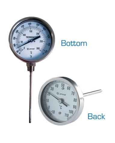 Category: Temperature Gauges. Bi Metal Thermometers
