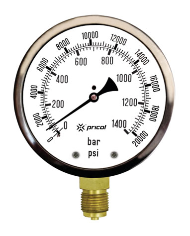 High Pressure Gauges – PRICOL ENGINEERING INDUSTRIES LIMITED