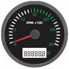 Hour RPM Meters; Hour Meter